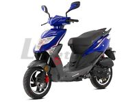 *Brand New* 66 plate Lexmoto FM 50cc. Warranty, Free delivery, Part-Ex