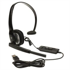 Plantronics Blackwire C210-M On-Ear Headset