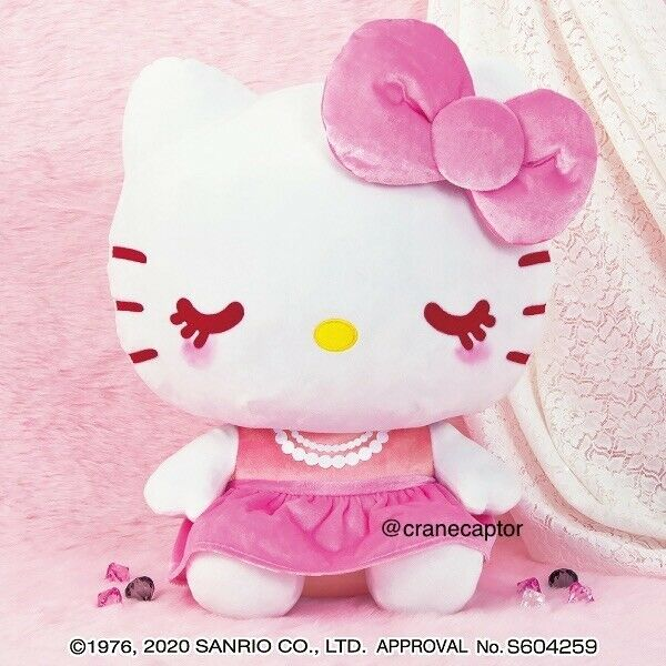 NEW 2020 Giga Jumbo XL Hello Kitty Princess Costume Japan Sanrio Plush Toreba