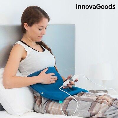 Heizkissen Nacken Schulter Rücken Elektrisches Kissen 40 x 20 cm 60W Blau (Heizkissen Schulter Elektrische)