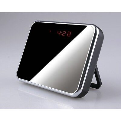 CAMARA ESPIA WIFI P2P OCULTA EN RELOJ DESPERTADOR FULL HD 1080P GRABACION...