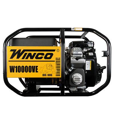 Winco W10000ve Industrial Series Portable Generator 10000 Watt Gas 120v 240v
