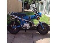 125 cc monkey bike Honda dax replica