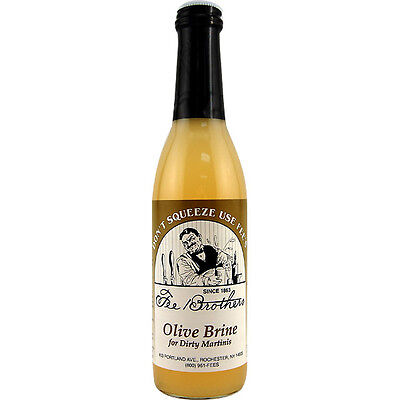 Fee Brothers Olive Juice Brine - 12.8 Oz - Dirty Martini Margarita Drink Mix