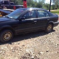 1991 Toyota tercel for parts