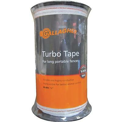 10-gallagher White 12 X 656 Electric Fence 5 Strand Wire Turbo Tape G623544