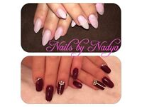 Mobile and home based nail technician Whitefield .Acrylic/gel/gel polish