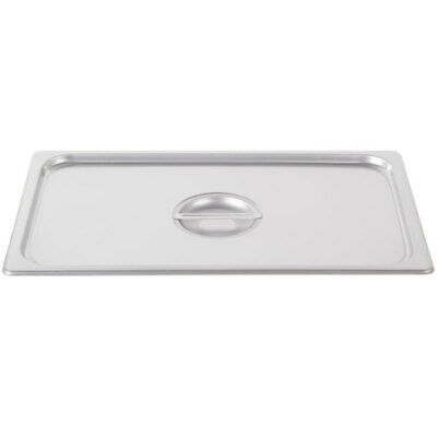 Full Size Stainless Steel Solid Steam Table Hotel Pan Cover Buffet Catering