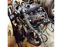 ford transit 2.4 mk7 rwd engine box spare repair