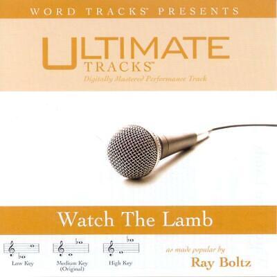 Ray Boltz  - Watch The Lamb  -  Accompaniment / Performance Track - New