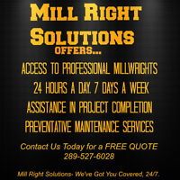 Hire A Millwright