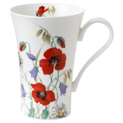 Roy Kirkham Latte Mug English Meadow Coffee Mugs Cafe Drinks Tall Flowers Coffee Latte Mug
