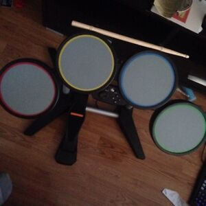 Rock Band 4 Compatible Drum set Complete with sticks PS4