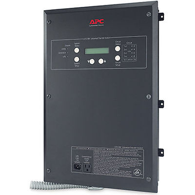 Apc 30-amp 120240v 10-circuit Indoor Manual Transfer Switch
