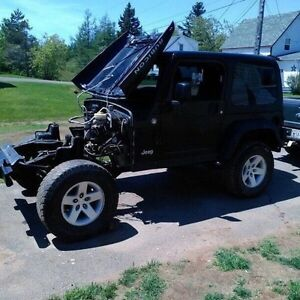 Trade 2005 tj rubicon with350