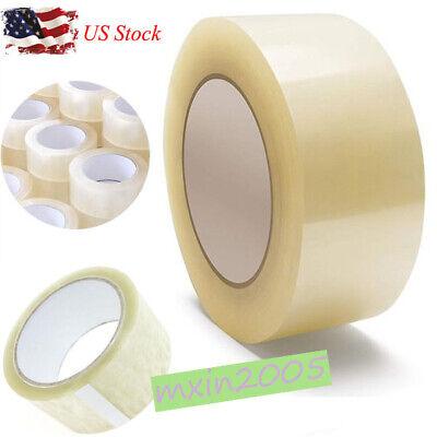 Us 1218 Rolls Carton Sealing Clear Packing Tape Box Shipping 3 Model