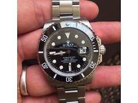 Rolex Submariner black ceramic bezel model £165