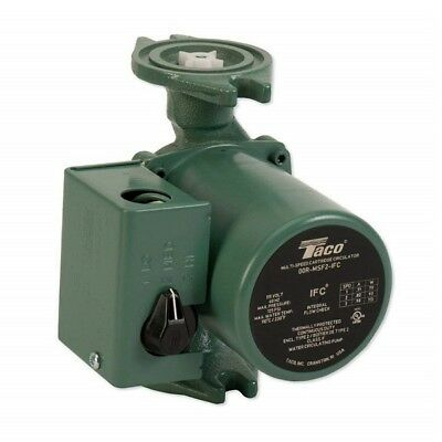Taco 0015-msf3-1 Ifc 00 Series 3-speed Cartridge Circulator Pump Cast Iron
