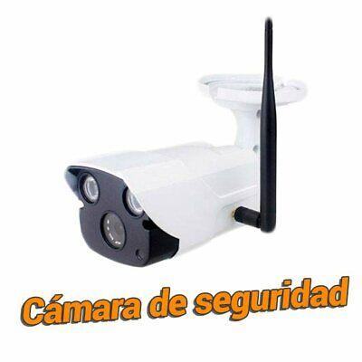 Camara de seguridad IP WiFi exterior Full HD 2Mpx vigilancia 1080 Yoosee...