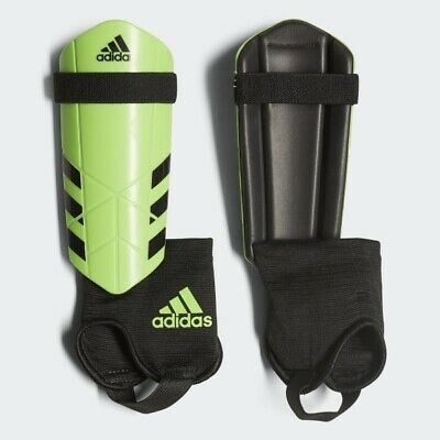 Adidas Ghost Guard Soccer Shin Guards Solar Green/Black (Youth L) 4'7