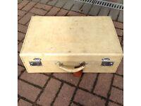 Hide Vintage Suitcase
