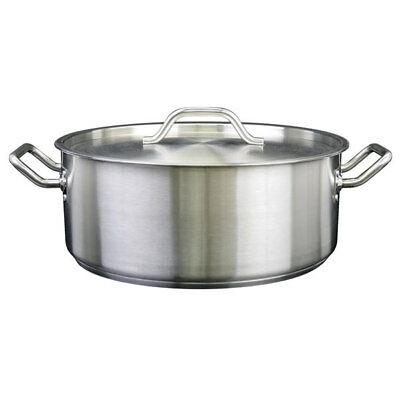 Thunder Group Slsbp025 25 Qt 188 Stainless Steel Brazier W Lid