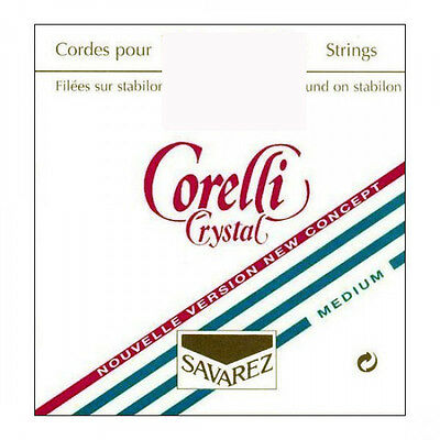 Corelli Crystal Violin String Set 4/4  E Ball Medium
