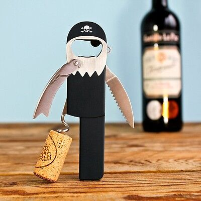 Suck UK Legless Pirate Bottle Opener Waiter ...