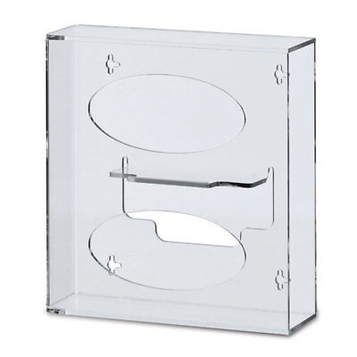 Double Medical Glove Box Dispenser Holder for Slim Glove Boxesn 1 (Glove Dispenser Box Holder)