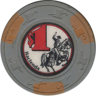 Hacienda Casino - $1.00 Casino  Chip