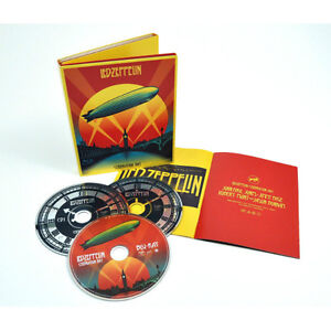 Led Zeppelin Celebration Day box set (blu-ray and CD's) Regina Regina Area image 1