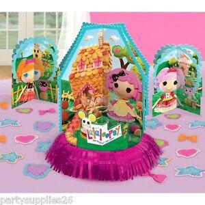 LALALOOPSY BIRTHDAY PARTY SUPPLIES VALUE TABLE DECORATING KIT