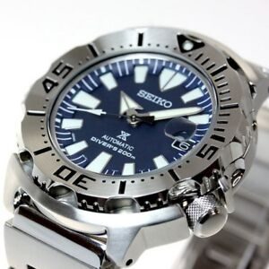 SEIKO MONSTER 3RD gen BLUE - SZSC003 - 1000pc LIMITED RELEASE -