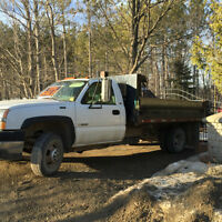 GM Dump Truck with Hitch, great to deliver Soil & Landscape