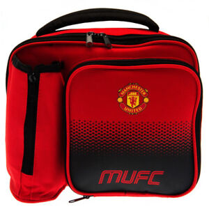 2926d37dccc2 Official Manchester United Football Club Team Fade Lunch Bag Lunch Box  School