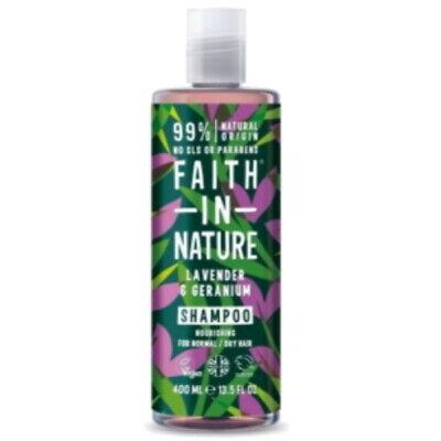 Faith in Nature Lavender & Geranium Shampoo VEGAN Parabenfrei 400ml