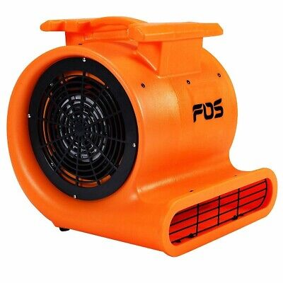 Floor Drying Fan Carpet Air Mover Blower 3 Speed Max Flow 4200 Cfm 1.0 Hp