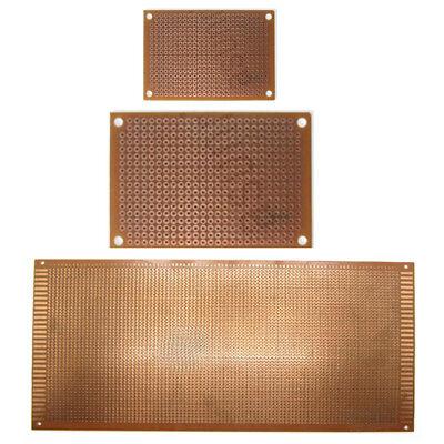 5 X Pcb Prototype Breadboard Circuit Project Test Wiring Board Sigle Side 5-30cm