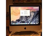 iMac 20 inch screen. Excellent condition!
