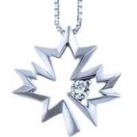 Canadian Ice Silver Diamond Collection Necklace