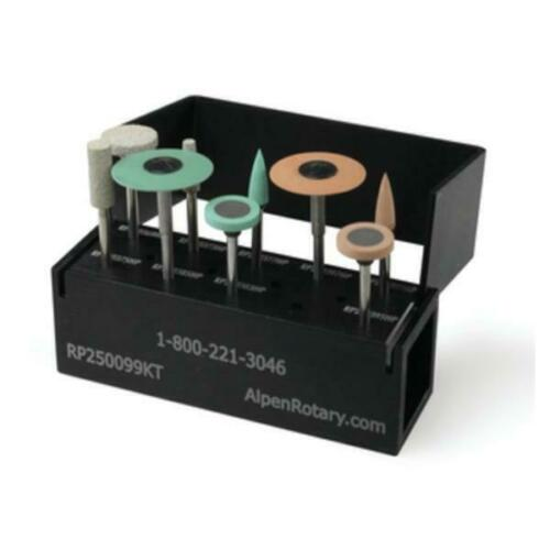 Alpen Coltene MultiPack:CADCAM, Zirconium Oxide, Glass Ceramics Polishing Kits