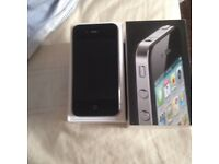 APPLE IPHONE 4 EXCELLENT CONDITION FULLY BOXED