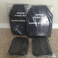 Airsoft Paintball Vest/Body Armor/Plate Carrier Dummy Plate