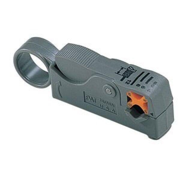 Rotary Coax Coaxial Cable Stripper RG58 RG59 RG174 RG6 4C 5C Strip Cutter Tool
