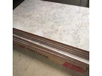 Pale grey marble pattern ceramic tile