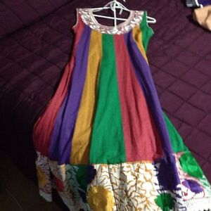 BRAND NEW MULTICOLOURED COTTON SUIT MUST SELL RIGHT AWAY! Strathcona County Edmonton Area image 3