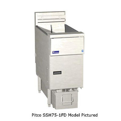 Pitco Ssh75-4fd High Efficiency Multi-battery Gas Fryer Filter System