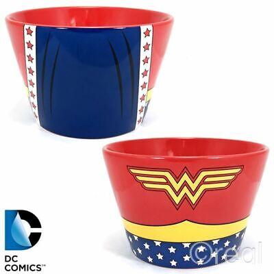 Neu dc comics Wonder Woman Kostüm Schale Logo Gerechtigkeit Liga Müsli (Offizielle Wonder Woman Kostüm)