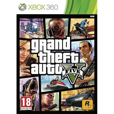 Galeria Grand Theft Auto GTA V (Five 5) Game XBOX 360 Brand New