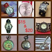 Brand new wrist watches & pocket watch necklaces Glenorchy Glenorchy Area Preview
